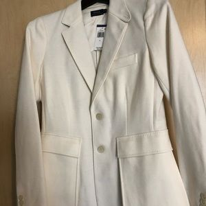 NWT Polo Ralph Lauren Size 6 Creme Riding Jacket